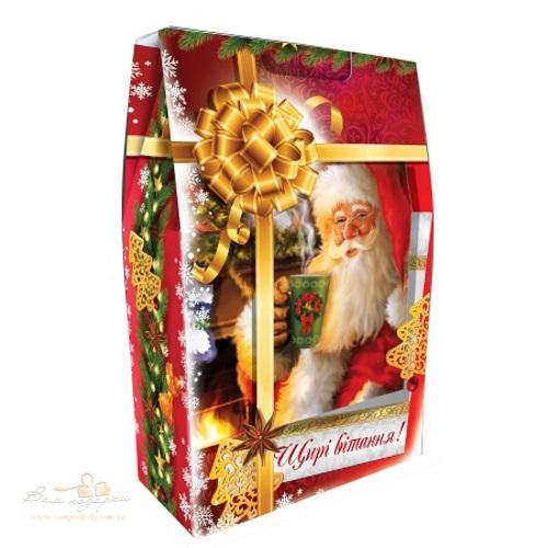 Новорічна упаковка «Сумка Щирі вітання», 2000г