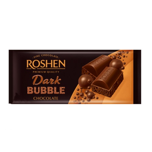 Шоколад «Пористый» чёрный Roshen, 80г