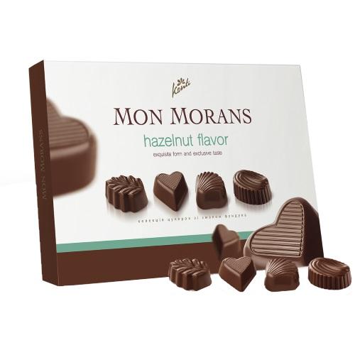 Конфеты в коробке Конти «Mon Morans» со вкусом фундука, 167г