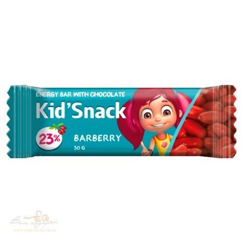 Энергетический батончик «Kid'Snack» барбарис, 30г