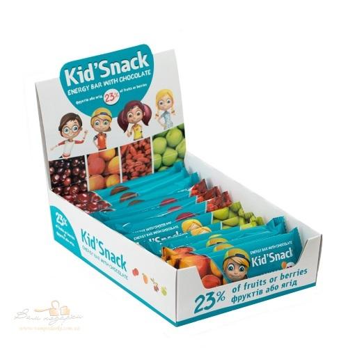 Энергетический батончик «Kid'Snack» ассорти, 360г