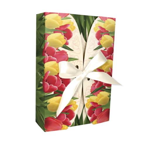 Упаковка «Тюльпаны», 225*150*55