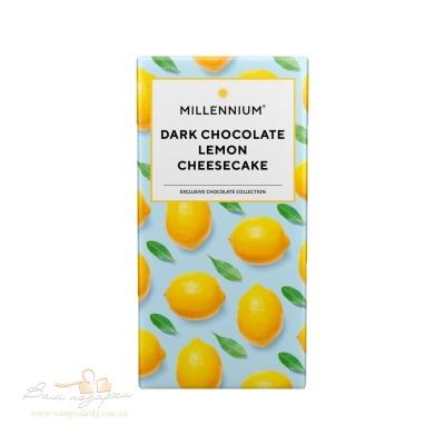 Шоколад «Dark chokolate lemon cheesecake» Millennium, 100г