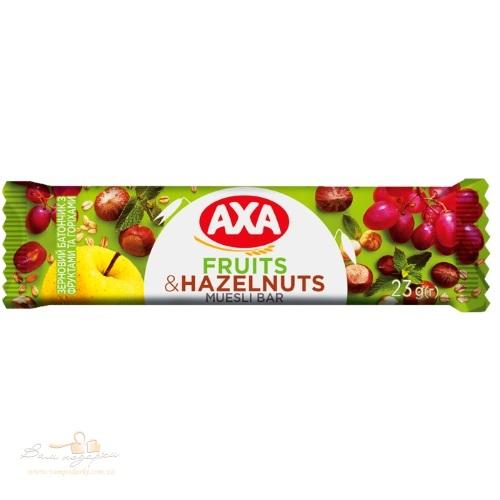 Зерновой батончик АХА с фруктами и орехами, 25г