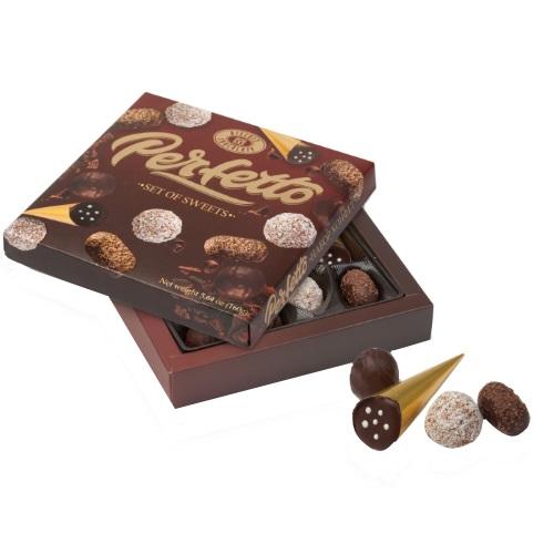 Конфеты в коробке ХБФ «PERFETTO», 160г