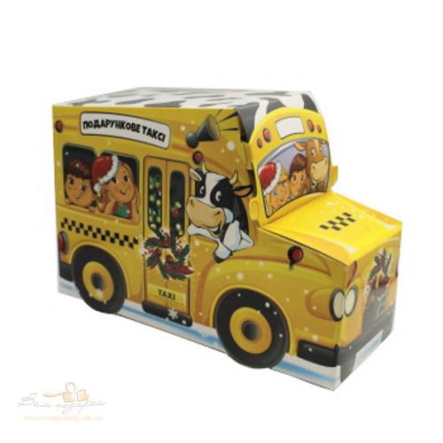 Новорічна упаковка «Таксі», 700г
