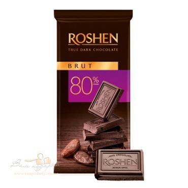 Шоколад «Roshen» BRUT 80%, 85г