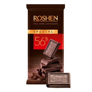 Шоколад «Roshen» Special 56%, 85г