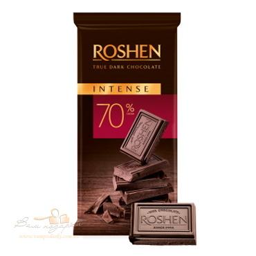 Шоколад «Roshen» Intense 70%, 85г