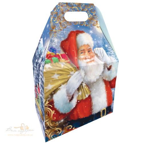 Новорічна коробка «Святкові привітання», 1000г