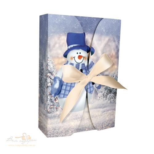 Новогодняя коробка «Снеговик», 600г