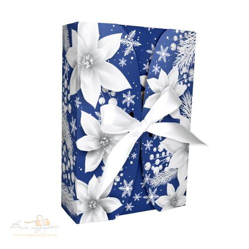 Новогодняя коробка «Рождественские цветы», 600г