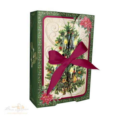 Новогодняя коробка «Елка ретро», 600г