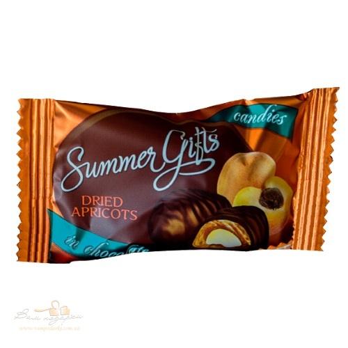 Конфеты «Summer Gifts» курага крем-молоко в шоколаде, кг