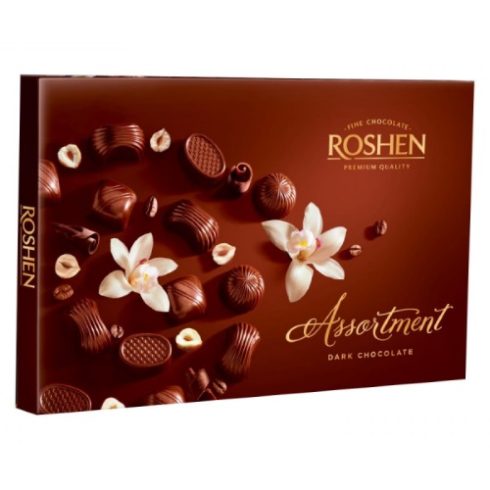 Цукерки в коробці Roshen «Assortment Classic», 154г