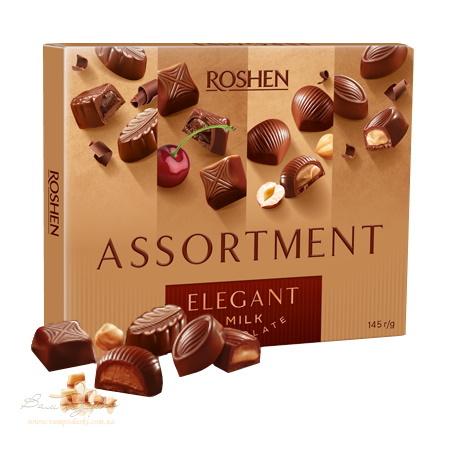Цукерки в коробці Roshen «Assortment Elegant», 145г