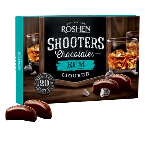 Конфеты в коробке Roshen «Shooters» rum, 150г